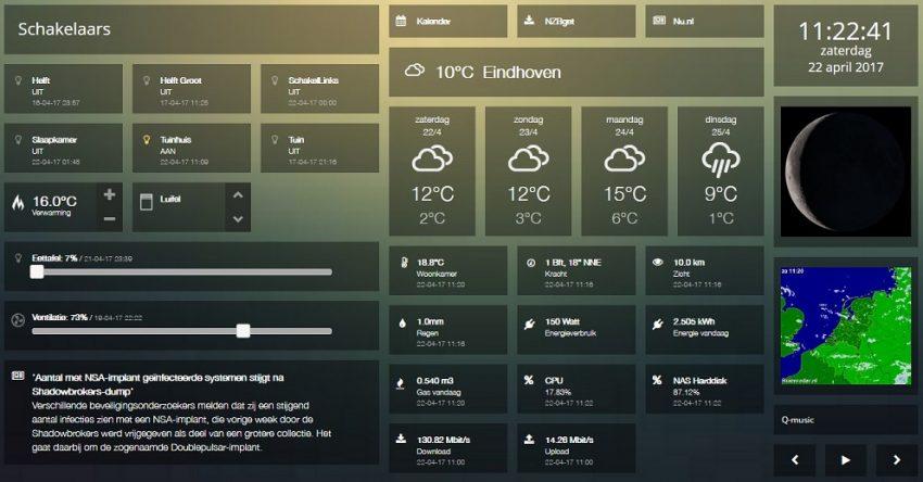 dashticz dashboard
